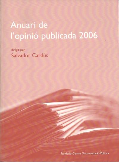 Anuari de l'opinió publicada 2006