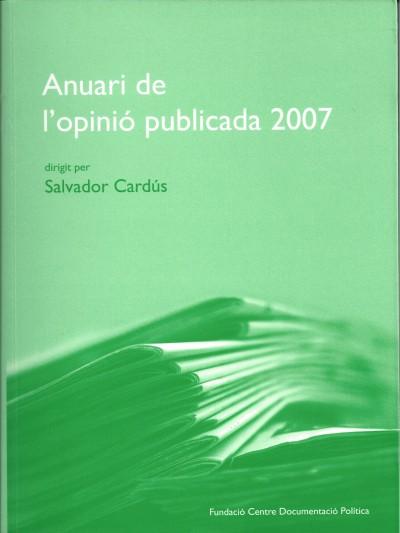 Anuari de l'opinió publicada 2007