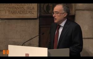 Salvador Cardus - conferencia Generalitat Candel