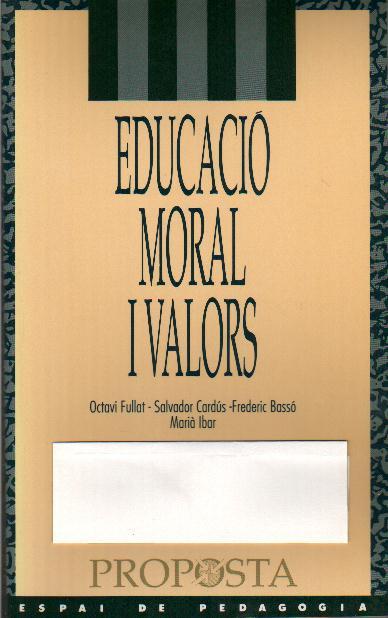 Educació moral i valors